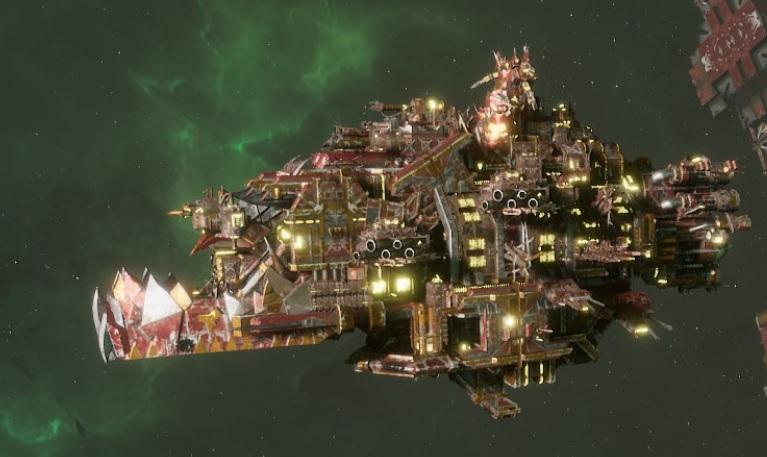 Ork Battleship