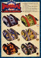 Land Raider Proteus colour schemes HH Era