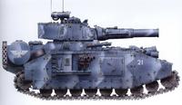 Mars Baneblade of the Krieg 1st Heavy Tank Company Emperors Loyal Shield