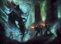 Nightbringer vs. Deathwatch