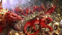 Warhammer Flesh Hounds Arts Гончие плоти