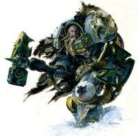 Wolf Guard Skallagrim of the Blackbrow
