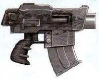 Umbra-Magnus Bolt Pistol