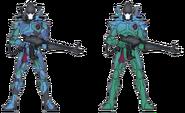 Стражи Мимеары (цветовая схема)