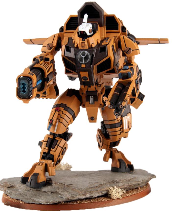 XV109 Y'vahra Battlesuit