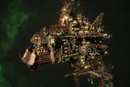 Ork Terror Stompa Cruiser