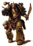 Чумной десантник с Чумным мечём