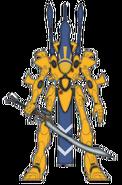 Воин-призрак Йандена (цветовая схема)