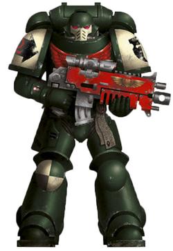 Body C Sergeant Space Marine Primaris Aggressor *BITS*