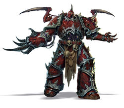 Chaos Marine POSSESSED LEFT COMBAT WEAPON Bits 40K A