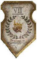 True Messengers Warlord Livery Shield
