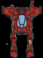 Боевой шагоход Сейм-Ханна (цветовая схема)