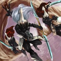 Howling Banshee Exarch & Warriors