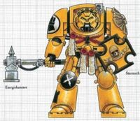 Imperial Fists Terminator