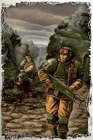 Cadian Trooper & Ratling Sniper