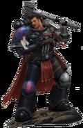Watch Captain Esteban de Dominova of the Crimson Fists Chapter