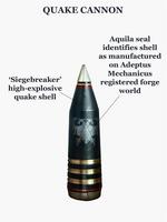 Quake cannon shell
