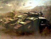 Salamanders Relic Sicaran Battle Tank