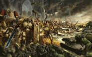 Adeptus Custodes and Orcs