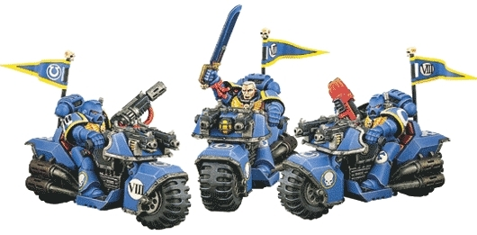 Bike Squad (Space Marine)