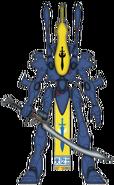 Воин-призрак Алаитока (цветовая схема)