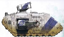 Novamarines Land Raider Helios