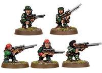 Imperial Guard Ratlings Sniper Team (Old)