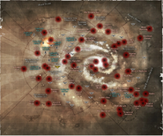 Eldar Craft world Location Map