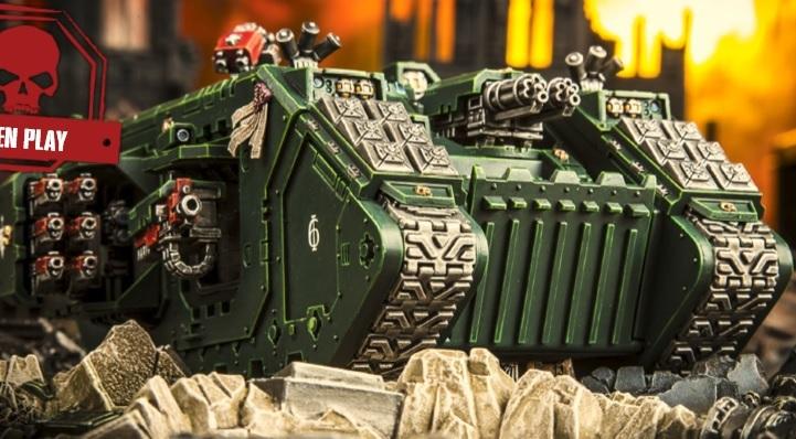 Land Raider Solemnus Aggressor