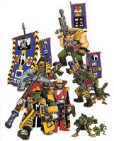 Blood Axes Orks