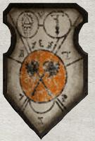 Flaming Skulls Princeps Shield