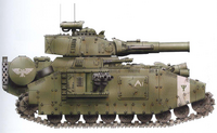 Mars Baneblade of the Cadian 98th Armoured Regiment