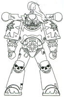 Chaos SM Power Armour