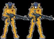 Стражи Йандена (цветовая схема)