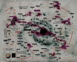 Карта Галактики в начале М42