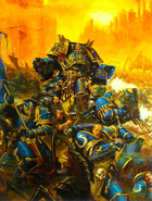 Calgar Honour Guard vs. Behemoth