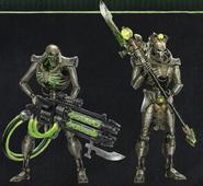 Sautekh immortal and lychguard