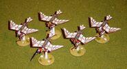 Летуны Катраццы, настольная миниатюра