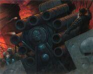 Залповая пушка Адское Пламя