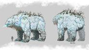 Elemental Bear Concept Art