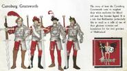 Carroburg Greatswords Uniforms