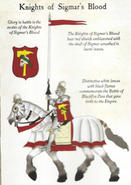 Knights of Sigmar's Blood