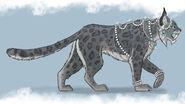 Snow Leopard Concept Art