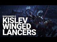 Kislev Winged Lancers Unit Spotlight - Total War- WARHAMMER III