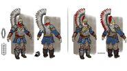 Winged Lancers Concept Art