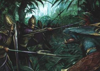 Warhammer Lizardmen Saurus Attack.png