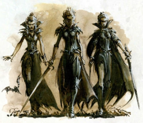 Neferata's Handmaidens