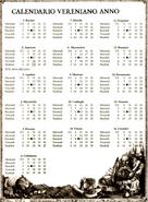 Calendario Vereno