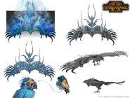 Total War Frostheart Phoenix Concept Art 1