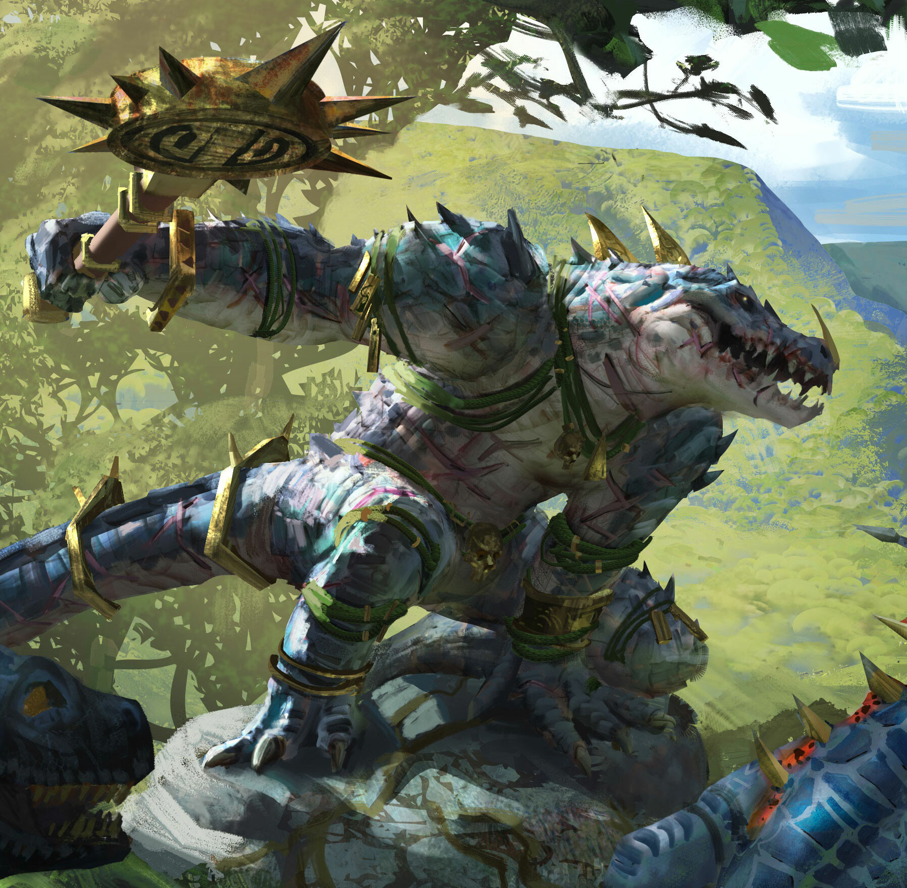 Nakai The Wanderer Art / Nakai the wanderer is the mighty protector of the lizardmen and a legendary lord in the hunter and the beast expansion for total.